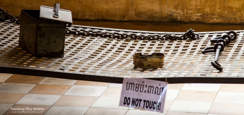 Tuol Sleng Torture Devices