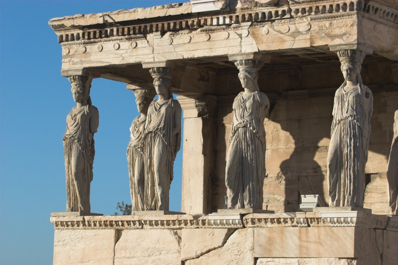 Caryatid of the Erechtheion