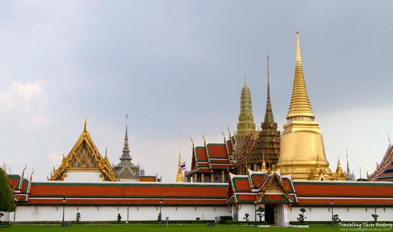 Temple of the Emerald Buddha, Wat Phra Kaew, Grand Palace, Bangkok, Thailand