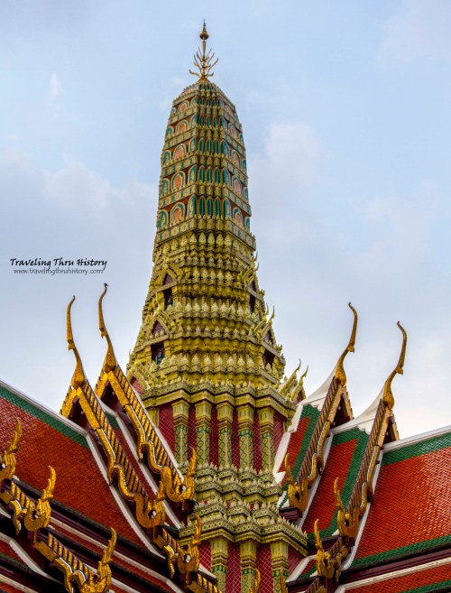 Roof of Prasat Phra Thep Bidon (Royal Pantheon)