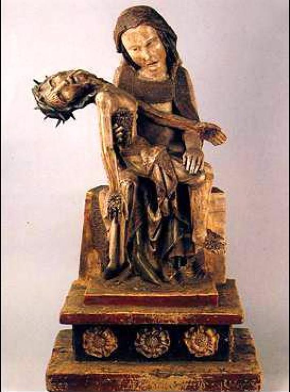 Virgin with Dead Christ, Rottgen Pieta