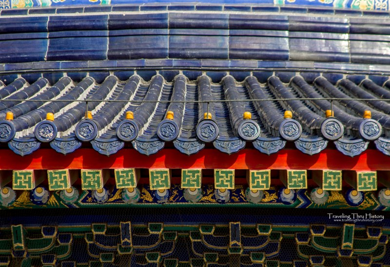 The Temple of Heaven is a 15th century Chinese religious site in Beijing, China, that was used during the Ming and Qing dynasties for ceremonial harvest prayers. In 1998 it was declared a UNESCO World Heritage Site.