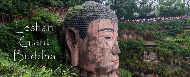 The Leshan Buddha built during the Tang Dynasty in the Sichuan Province of China is the largest stone Buddha in the world and is a UNESCO World Heritage Site.