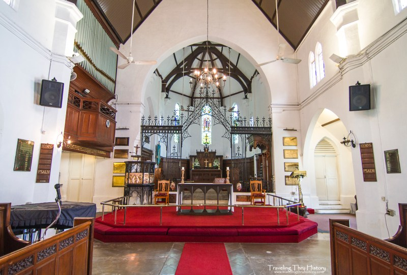 St. Mary's Cathedral is an 1894 Anglican church in Kuala Lumpur. It was the first Christian church in Malaysia.