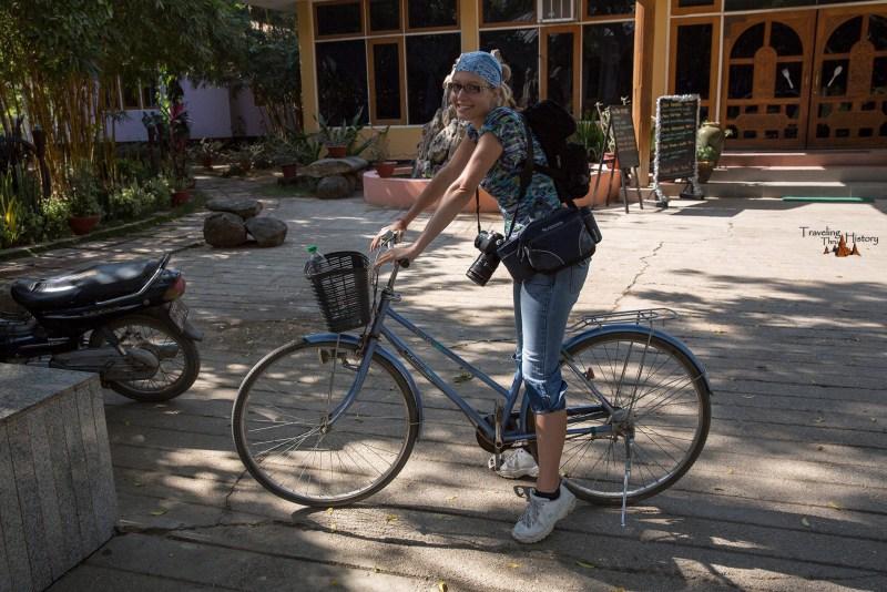 Riding Bike in Bagant