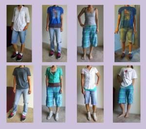 Tomboy Capsule wardrobe ideas