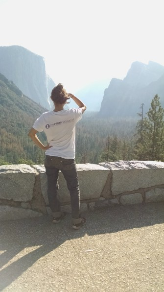 last look of Yosemite valley. Hey look I'm wearing my blogger picture.