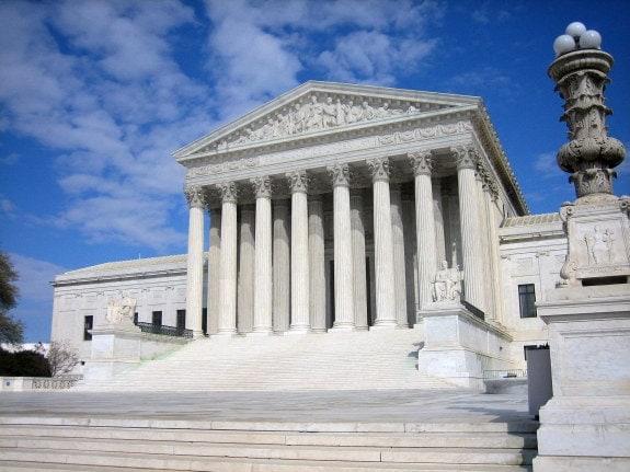 El actual edificio del Tribunal Supremo en Washington