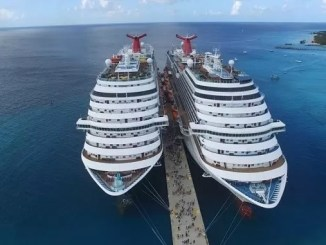Cruise Ships and Drones