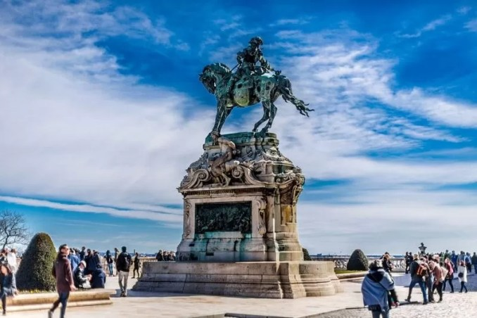 Castle Statue Blue Horse Rider 768x512 - Budapest Travel Guide-What Every Tourist Should Know About Budapest