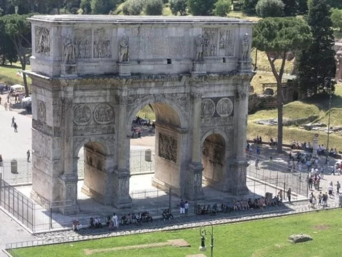 Arch Of Constantine Rome Italy e1544878088375 - Rome Travel Guide-Two Days In The Roman Empire Capital City