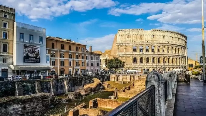 Rome Colosseum Gladiator School View e1544877888736 - Rome Travel Guide-Two Days In The Roman Empire Capital City