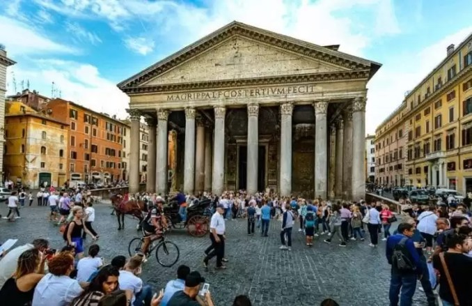 Rome Travel Guide Rome Pantheon Piazza e1544876307810 - Rome Travel Guide-Two Days In The Roman Empire Capital City