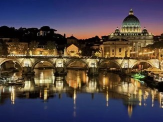 Rome Travel Guide-Vatican City Italy Tiber St Peter's Basilica