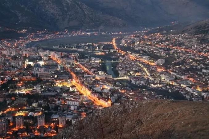 Night View Mostar Bosnia Herzegovina e1561272765992 - Mostar, Bosnia-Herzegovina-The Little Paradise