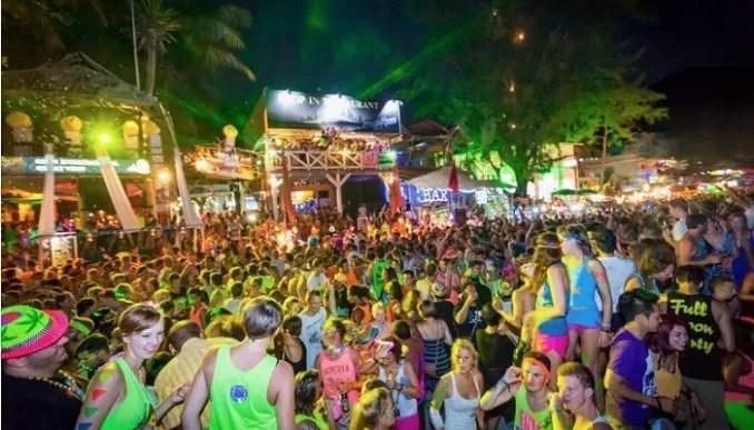 Full Moon Party-Thailand