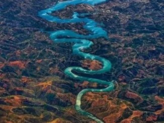blue dragon river, Portugal