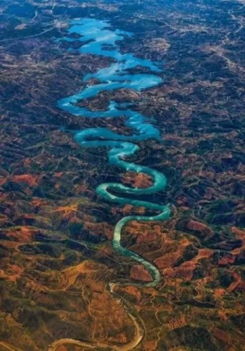 Blue Dragon River e1566231502468 - The Blue Dragon River, Portugal - Barragem De Odeleite