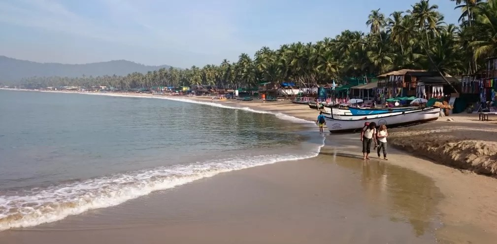 Palolem Beach - best beaches in goa for foreigners
