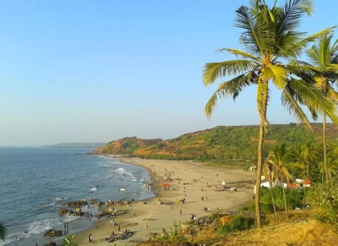 Vagator Beach e1569069890545 - Best Beaches in Goa India For Foreigners