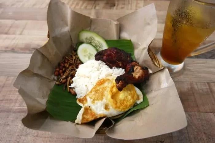 Nasi Lemak - Famous Malaysian Dishes