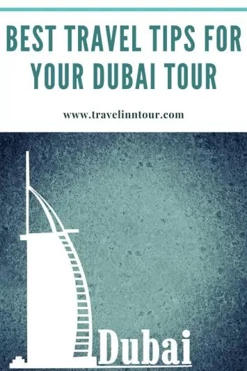 tips for first time travel to dubai