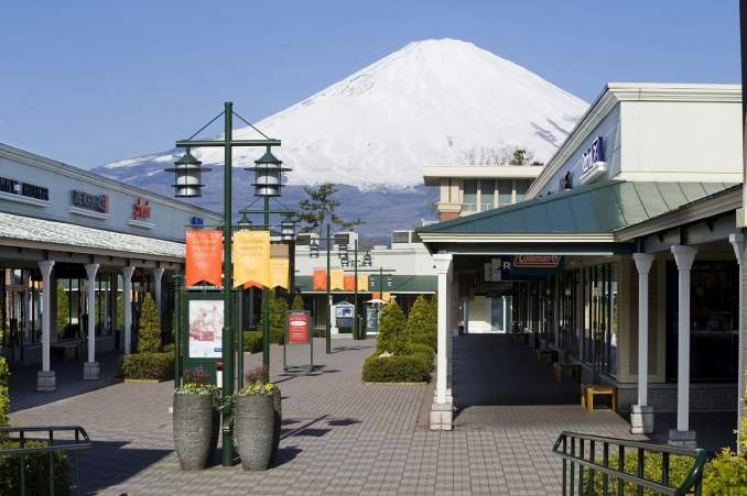 Hakone, Mt. Fuji, Gotemba Premium Outlet