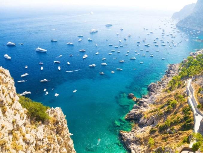 Mediterranean coast, Italy