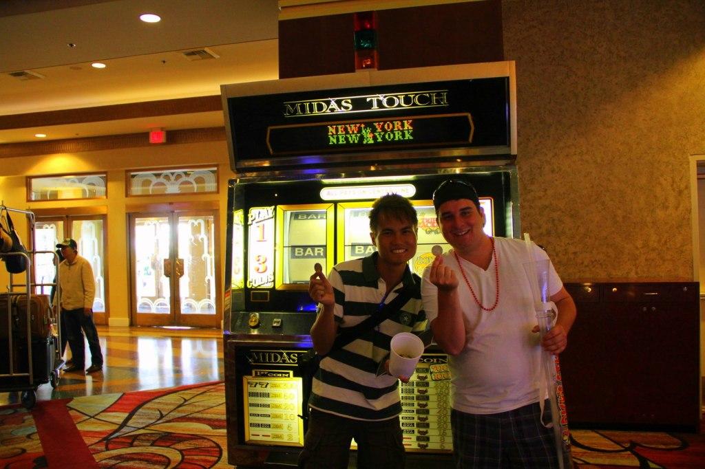Funniest buddy ever Jordan Casey (Canadian) in Sin City Las Vegas, USA