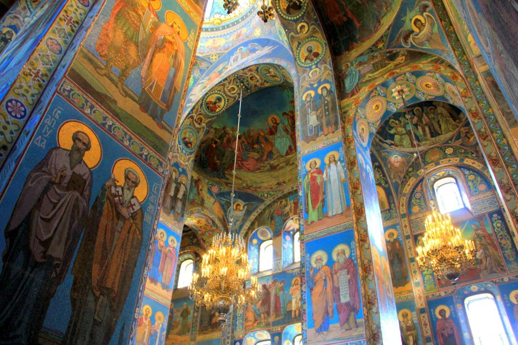 Interior of the Church of the Saviour on Spilled Blood