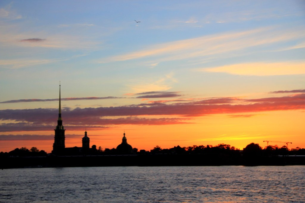 Midnight Sun aka White Night of St Petersburg, Russia