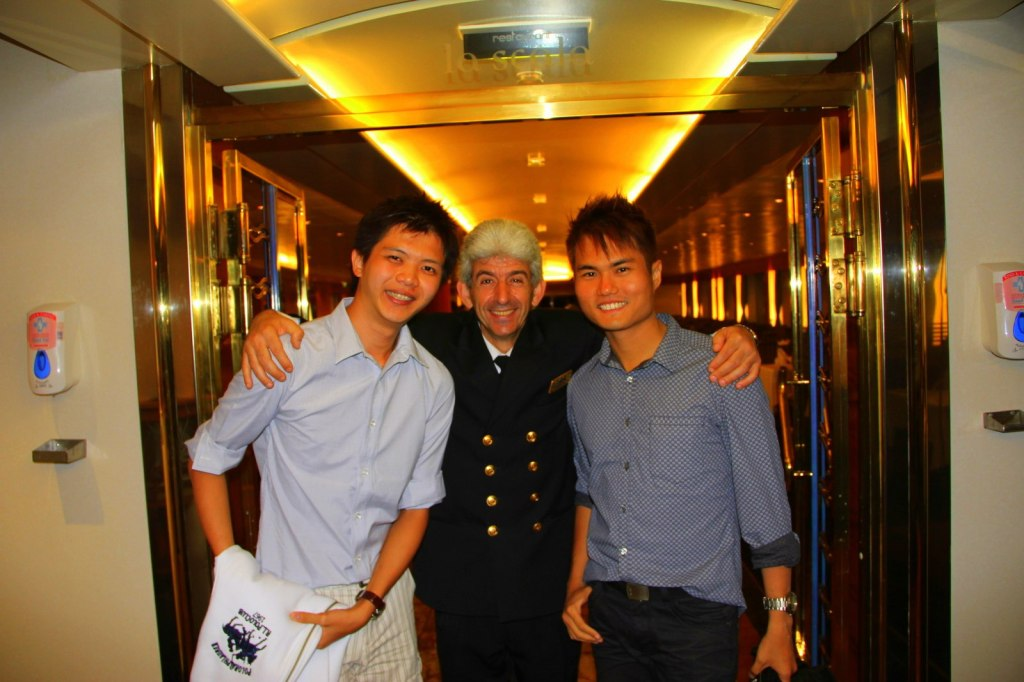 My Greek Head Waiter and Guide in Greece