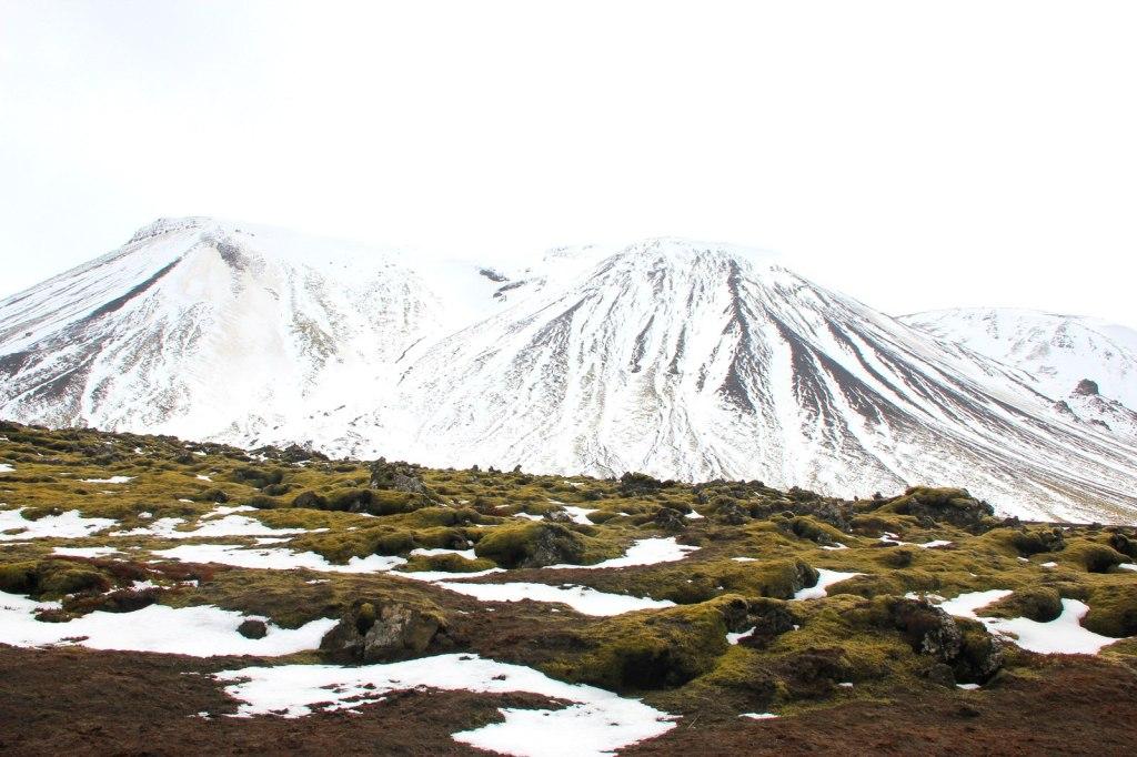 Arriving at Leiðarendi Cave
