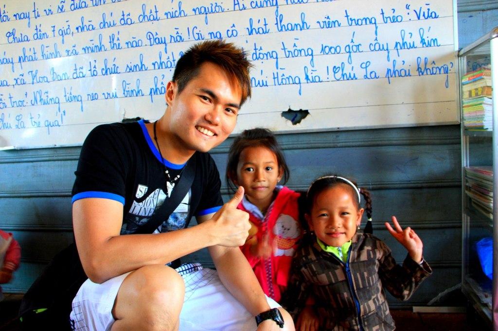 The beautiful Cambodian kids