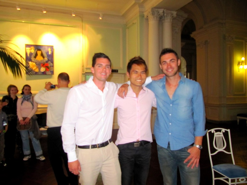 With David and Lee (Aussie) in Russia