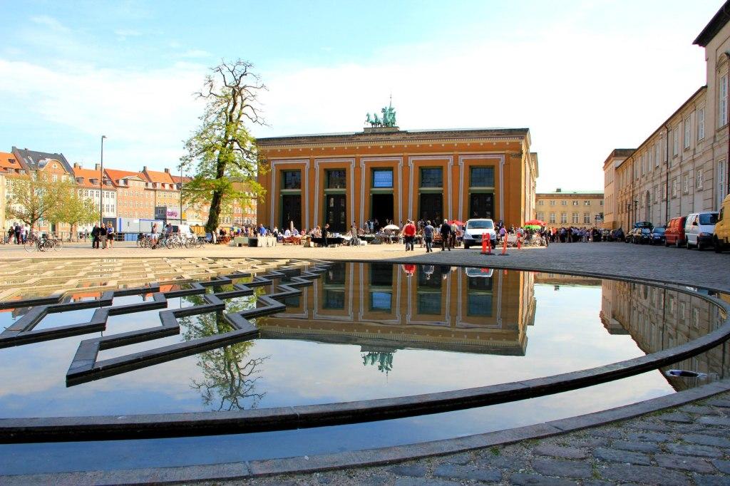 Clean city of Copenhagen
