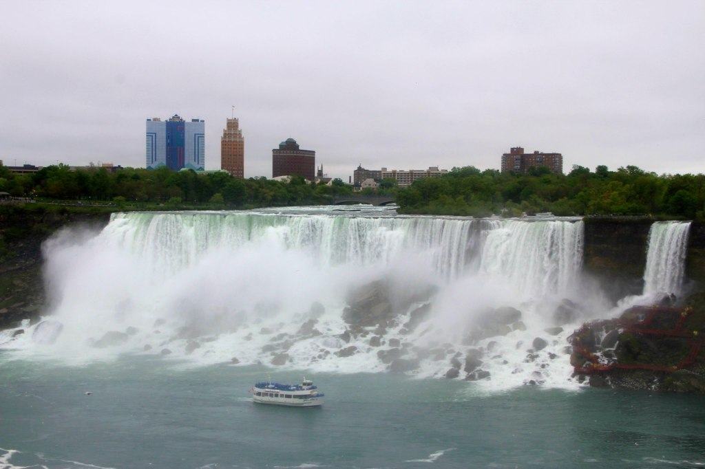 The American Falls from Canada