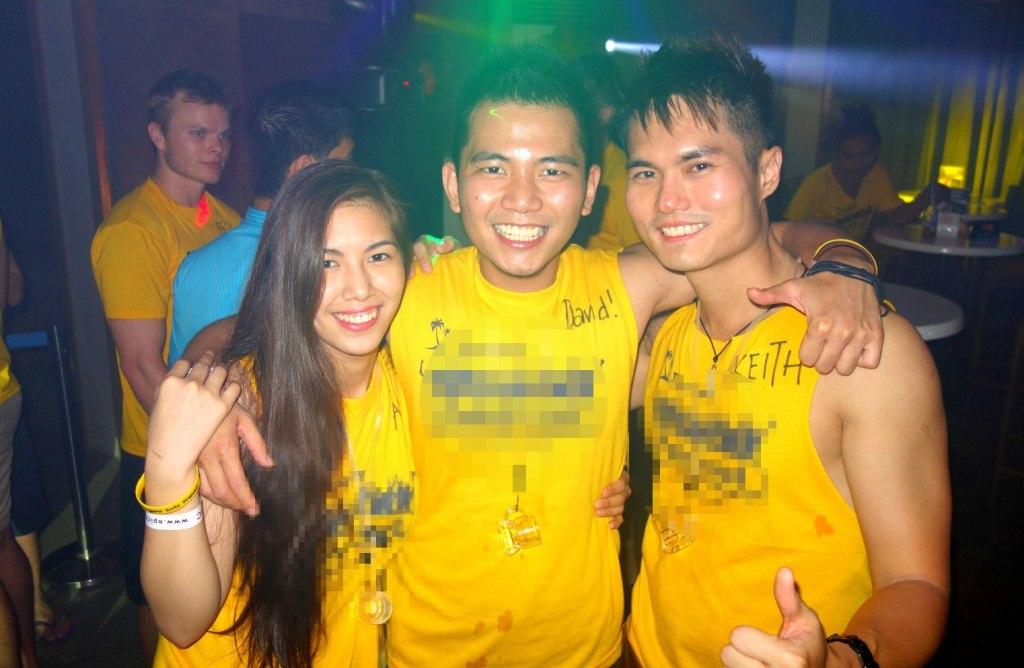 With my new mates Ai & David who is half Japanese and Filipino mix