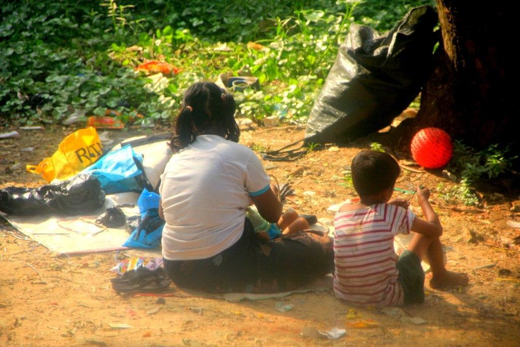 The less privileged children