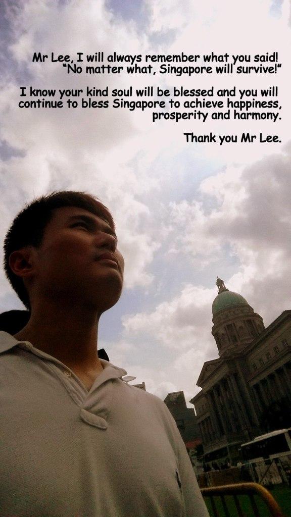 My heartfelt feelings for Mr Lee