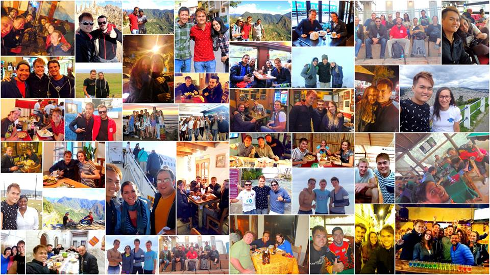 Some of the amazing people I have met in South America
