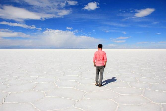 Uyuni Sale Desert, Bolivia