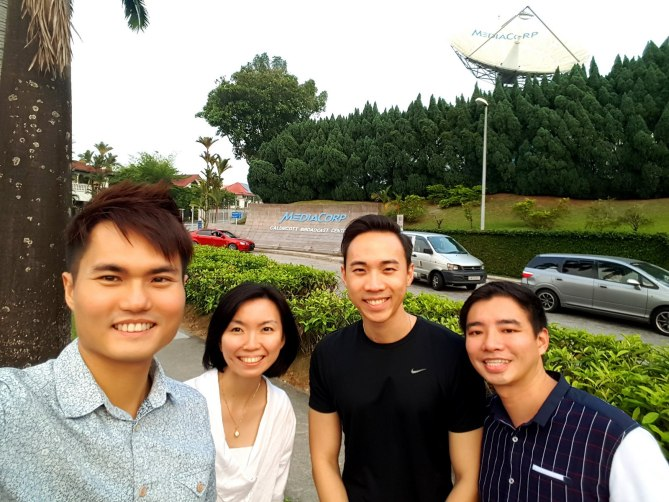 Mediacorp with Buddies