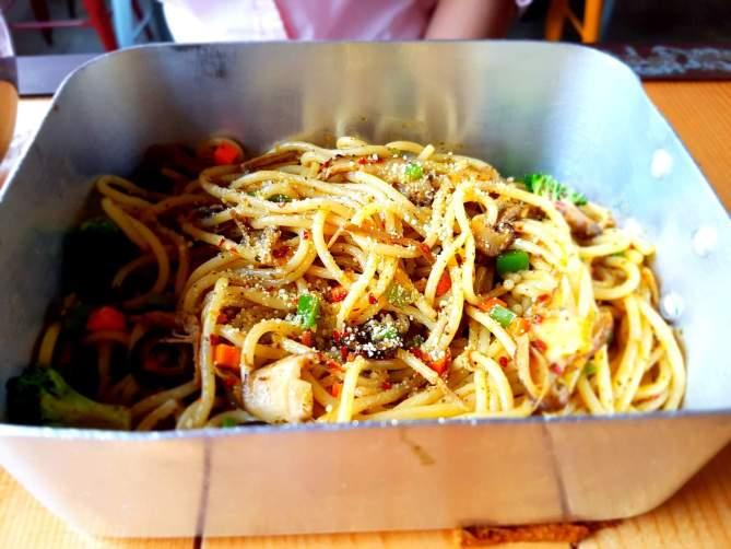 Spicy Spaghetti Aglio Olio