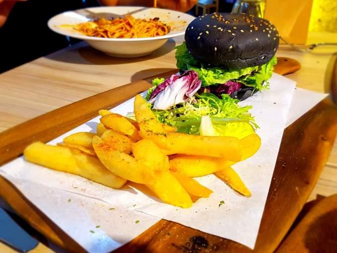 King Oyster Mushroom Burger Set