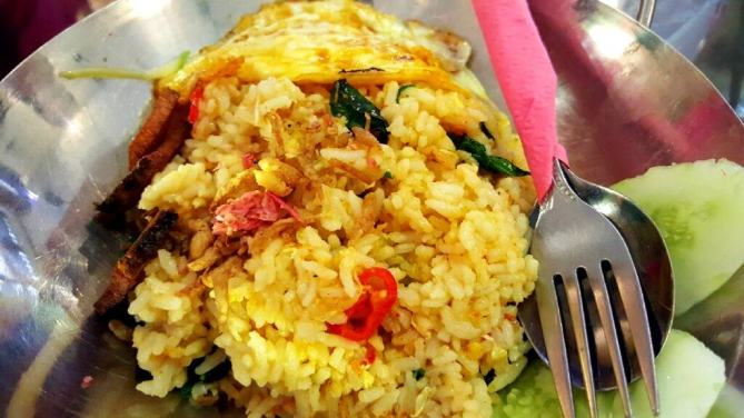 Peranakan Vegetarian Kampung Fried Rice