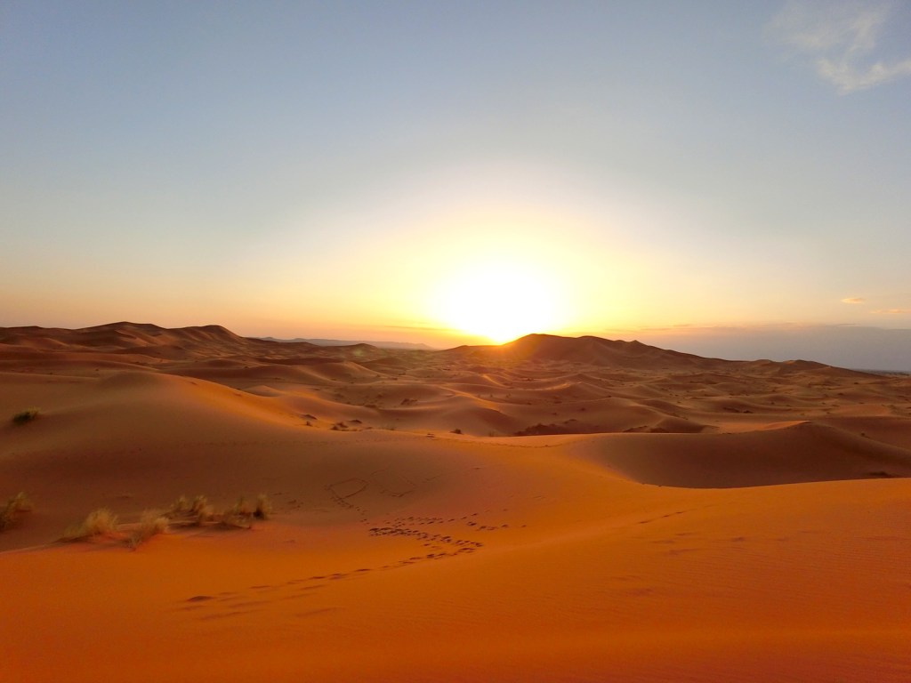 Sunset at the Great Sahara Desert!