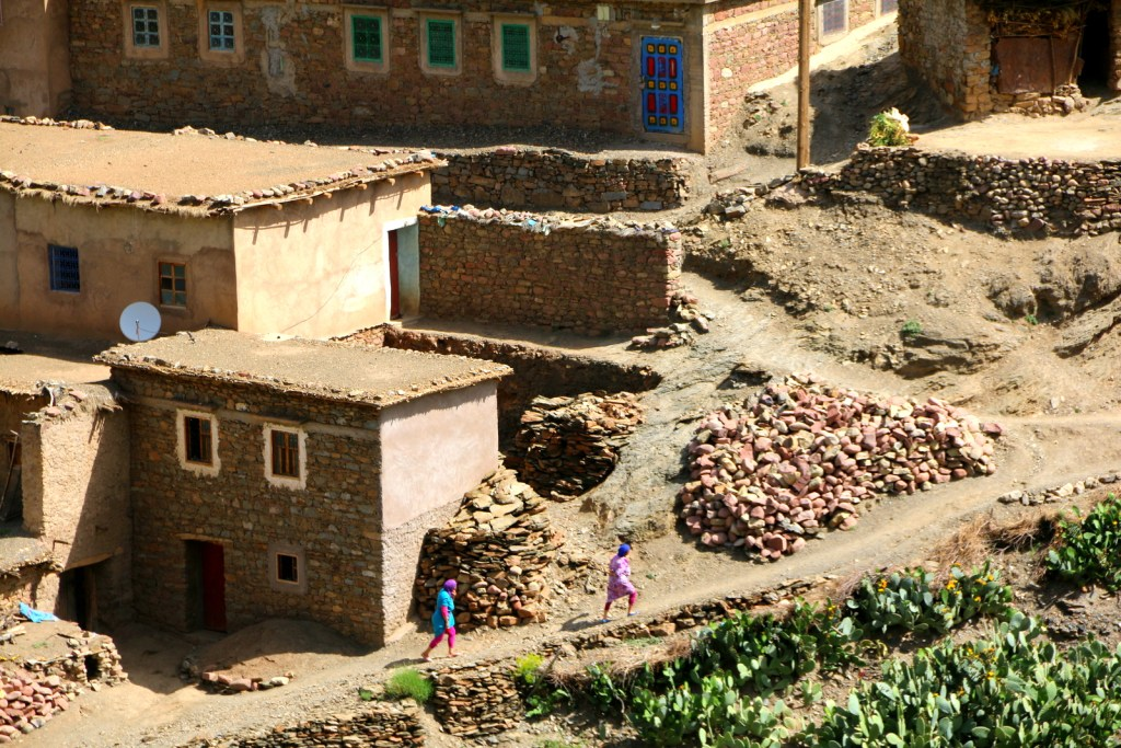 Berber settlement at the High Atlas Region