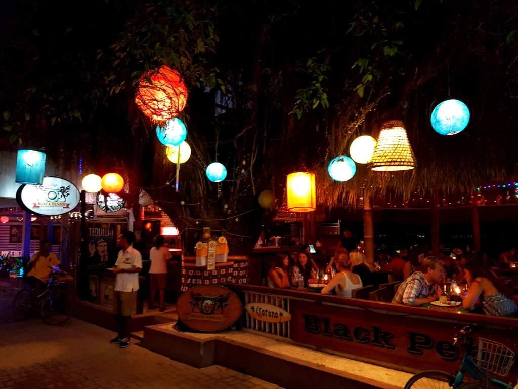 Bars in Gili Trawangan Island