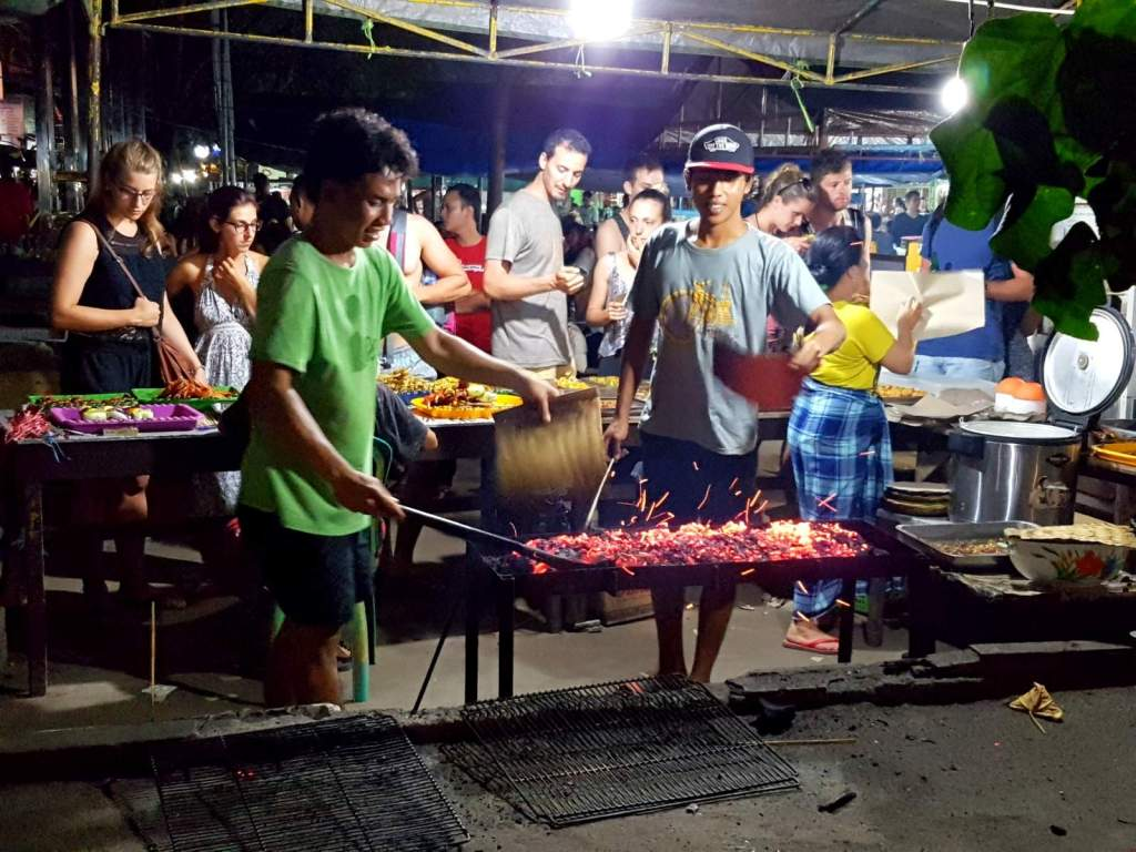 BBQ in Night Market @ Arts Market Gili Trawangan Island